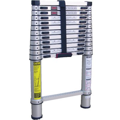 Vestil Aluminum Telescopic Ladder TLAD-10