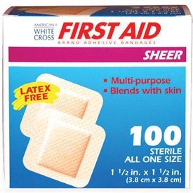 American White Cross® First Aid Sheer Bandages 1309033