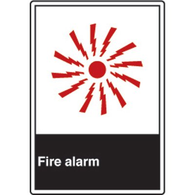 ANSI Safety Signs - Fire Alarm