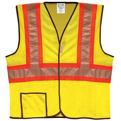 Occunomix ANSI Class 2 Two-Tone Safety Vest LUX-SSCOOL2