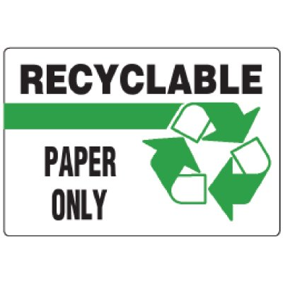 Anti-Microbial Signs - Recyclable Paper Only