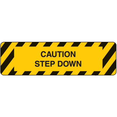Anti-Slip Stair Markers - Step Down