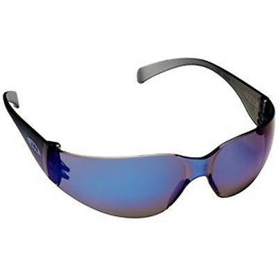 AO Safety Virtua™ Eyewear Blue Mirror Frame-Blue Mirror Hardcoat Lens 11331-00000-