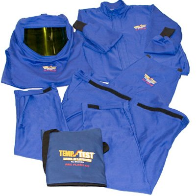 Arc Flash Protection Clothing - 12.4 Cal Kit, HRC 2