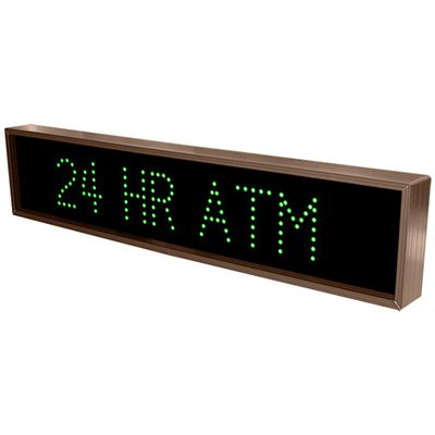 24 Hr Atm Direct View Sign