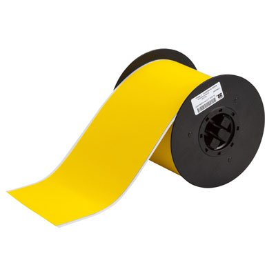 Brady B30C-4000-854-YL B30 Series Label - Yellow