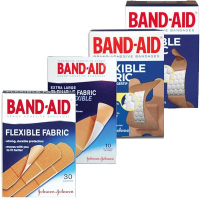 BAND-AID® Flexible Fabric Bandages