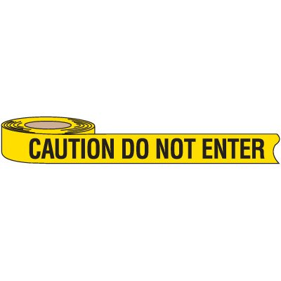 Recyclable Caution Do Not Enter Barricade Tape