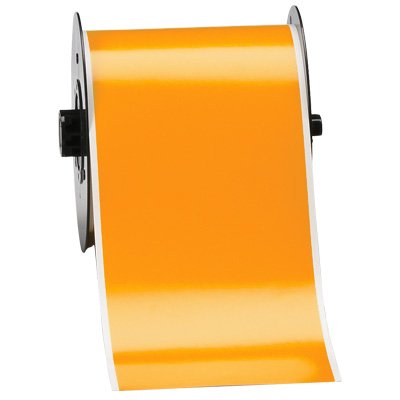 Brady B30C-4000-595-OR B30 Series Label - Orange