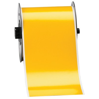 Brady B30C-4000-595-YL B30 Series Label - Yellow