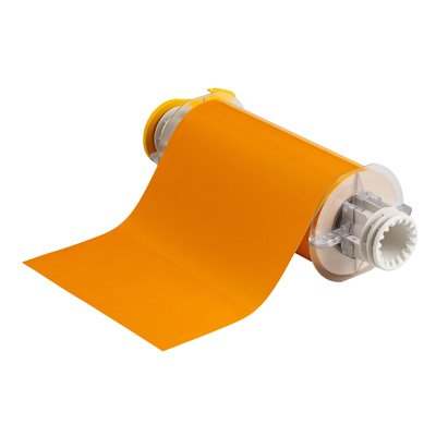 BBP®85 Series Label: Polyimide, Yellow, 7 in W x 50 ft L