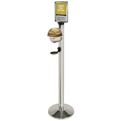 Beltrac® Instant Hand Sanitizing Station 50-ST01/ORG/CL