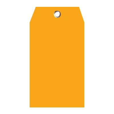 Blank Heavy Duty Plastic Tags