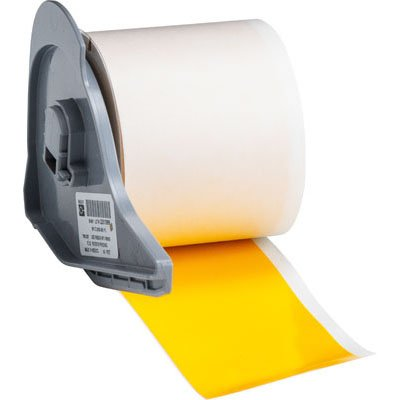 Brady M71C-2000-581-YL BMP71 Label - Yellow