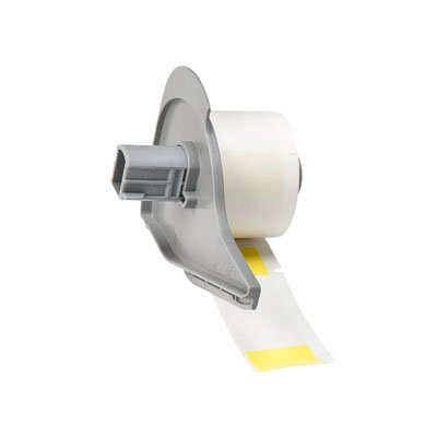 BMP®71 Series  Label: Vinyl, Yellow/Translucent, 2.5 in H x 1 in W