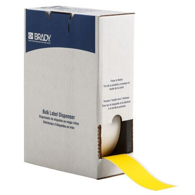 Brady BM71C-2000-855-YL BMP71 Label - Yellow