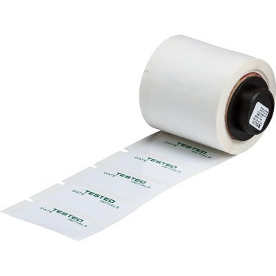 Brady PTL-30-423-TEST BMP71 Label - Green on White
