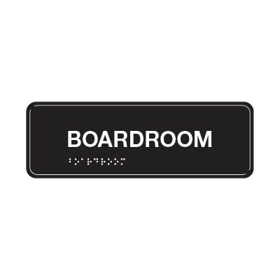 Boardroom - ADA Braille Tactile Signs