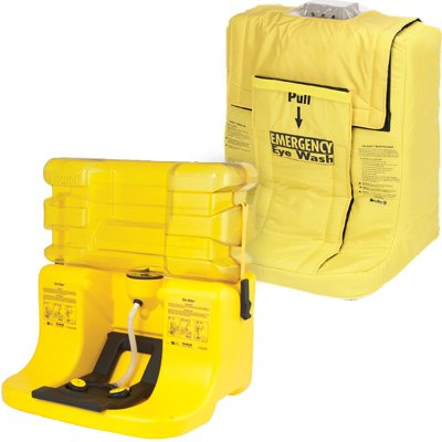 Bradley On-Site® Portable Gravity-Fed Eyewash Station