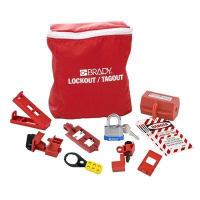 Brady Brady Electrical Lockout Pouch Kit - Part Number - 134031 - 1/Each