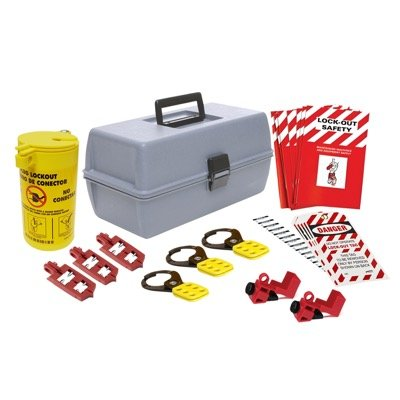 Brady Brady Lockout Kit with Large Box - Part Number - 134035 - 1/Each
