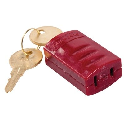 Brady Stopower® Power Cord Plug Lockout - Red (65673)