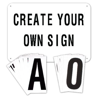Build-Your-Own Sign Kit