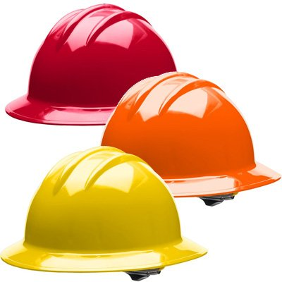 Bullard® Classic Series 6-Point Full Brim Hard Hats