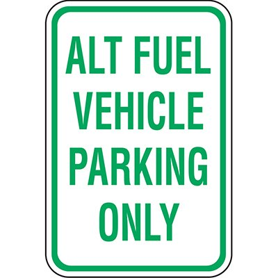 California Traffic & Parking Signs - Alt Fuel Vehicle Parking