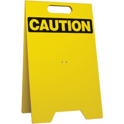 Caution Portable - Floor Stand
