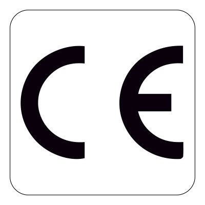 CE Mark Labels - Durable Polyester