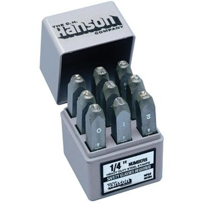 C.H. Hanson® - Heavy Duty Steel Hand Stamp Sets 21440