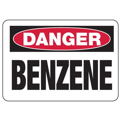 Chemical Signs - Danger Benzene