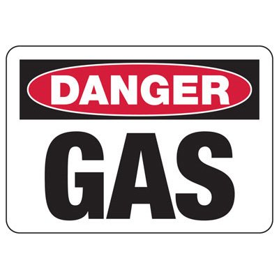 Chemical Signs - Danger Gas
