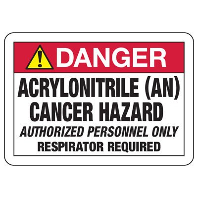 Chemical & Cancer Signs - Acrylonitrile Cancer Hazard