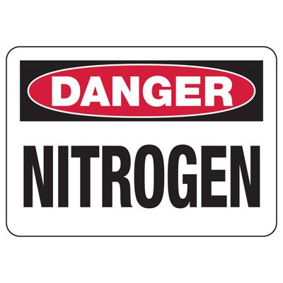Danger Signs - Nitrogen