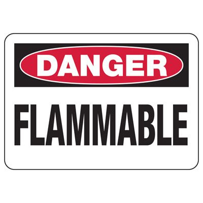 Danger Signs - Flammable
