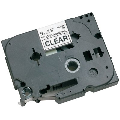 Brother® TZE-S221 Industrial TZ Series Label Tapes - Black on White