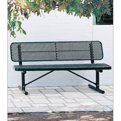 Coated Steel Deep Seat Benches