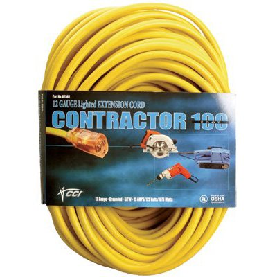 Southwire Coleman Cable - Vinyl Extension Cords 02589-0002