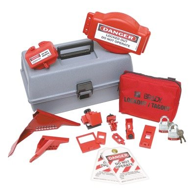 Brady Combination Lockout Toolbox With Brady Steel Padlocks & Tags - Part Number - 99685 - 1/Each