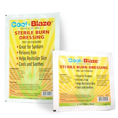 Cool Blaze® with Aloe Vera Sterile Burn Dressing