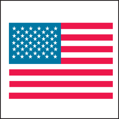 American Flag Country Of Origin Labels