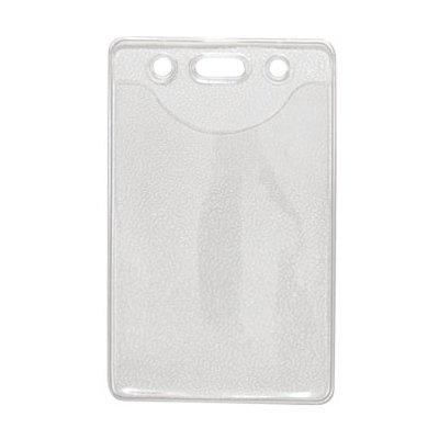 Credit Card Size Badge Holder, Vertical