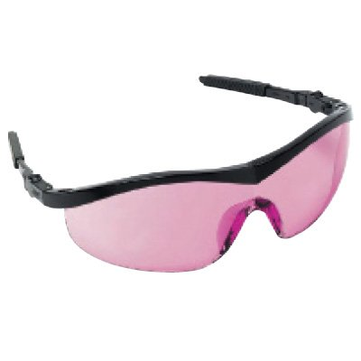 Crews®  Storm™ Safety Glasses-Vermillion Lens