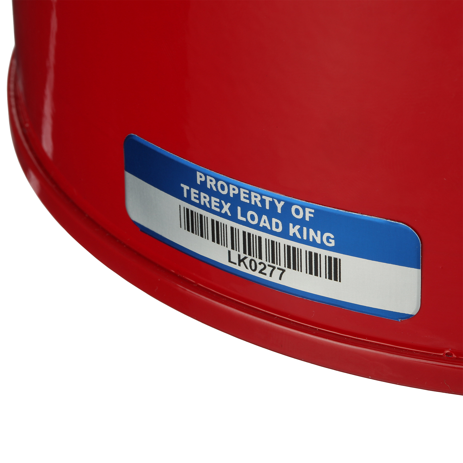 SetonGuard® Custom Curved Surface Asset Tags