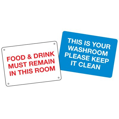 Custom Anti-Microbial Signs