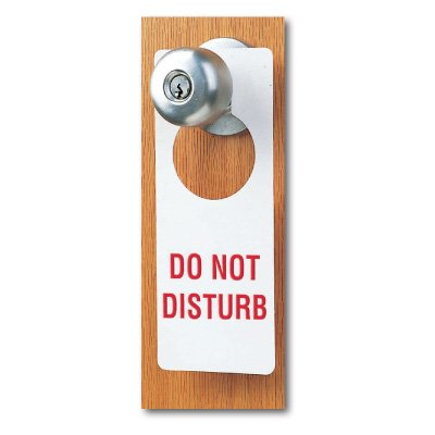 Custom Door Knob Hangers (Round Hole)
