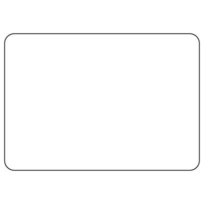 Blank Green Bordered Write-On - Custom Write-On Signs