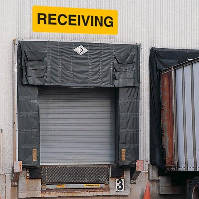 Custom Jumbo Loading Dock Signs